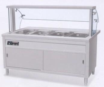 柜式保温售餐台 不锈钢产品